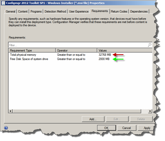 SCCM 2012: Standard Requirement Rules vs  Global Expressions