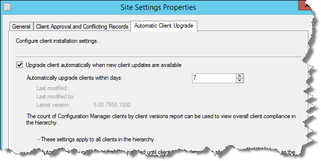 SCCM 2012: How does Automatic Client Upgrade work?