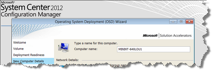 Setting OSDComputerName using CustomSettings ini