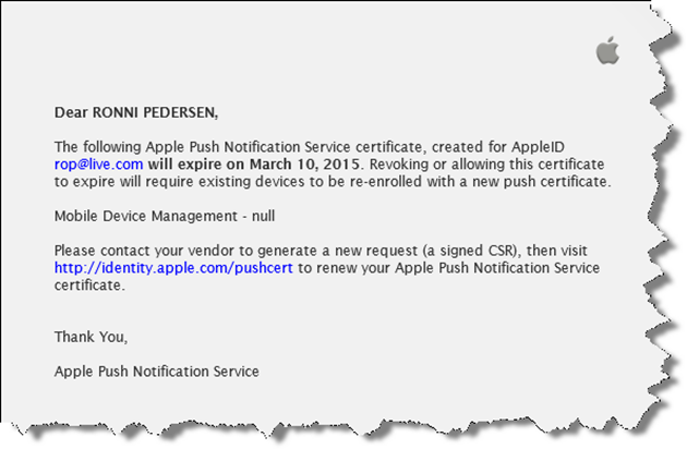 Renew Apple Push Notification Certificate for Microsoft Intune ...