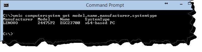 Get Computer Model Info for SCCM Driver Packages