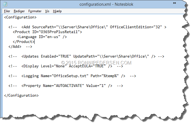 Deploying Office 2016 using the Click-to-Run Deployment Tool