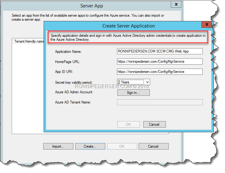 SCCM 1802: Migrating CMG from Classic to Azure Resource